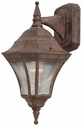 The Great Outdoors (8202-61) Segovia 1 Light Outdoor Wall Mount
