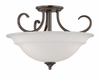 Thomas Lighting Bella 3-light Pendant in Oiled Bronze finish - SL860715