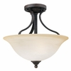 Thomas Lighting Prestige 2-light Ceiling in Sable Bronze finish - SL842022