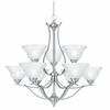 Thomas Lighting Prestige 9-light Chandelier in Brushed Nickel finish - SL863978