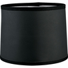 Thomasville Lighting Roxbury Collection (P8701-01) Contemporary/Soft Black Paper Shade shown in Black/Silver