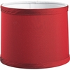 Thomasville Lighting Roxbury Collection (P8703-01) Contemporary/Soft Red Fabric Shade shown in Red