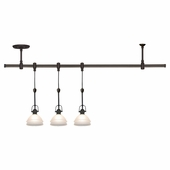 Three Light Trenton Pendant Rail Kit