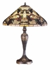 Meyda Tiffany (52129) 27.5 Inch Height Jeweled Grape Table Lamp
