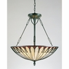 Tiffany- Contemporary Style Tiffany Pendant In Vintage Bronze Finish From Quoizel Lighting- TF1816VB
