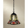 Tiffany- European Style Tiffany Mini Pendants In Vintage Bronze Finish From Quoizel Lighting- TF1737VB