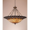 Tiffany- European Style Tiffany Pendant In Vintage Bronze Finish From Quoizel Lighting- TF1901VB