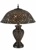 Meyda Tiffany (118588) 24 Inch Height Tiffany Fishscale Table Lamp