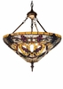 Meyda Tiffany (65651) 20 Inch Width Jeweled Grape Inverted Pendant