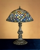 Meyda Tiffany (26673) 17 Inch Height Tiffany Fishscale Accent Lamp