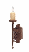 2nd Avenue Lighting (04.1116.1) Toscano Wall Sconce shown in Pompeii Gold Finish