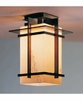 Tourou Outdoor Semi-Flush With Glass Options By Hubbardton Forge Lighting