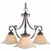 Murray Feiss (F1837) Tuscan Villa 3 Light Single Tier Chandelier