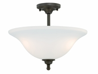 "Vaxcel Lighitng (C0041) Concord 16"" Semi-Flush Mount"