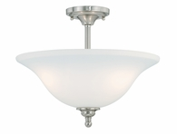"Vaxcel Lighitng (C0042) Concord 16"" Semi-Flush Mount"
