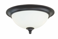"Vaxcel Lighitng (C0052) Darby 16"" Flush Mount"