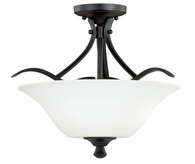 "Vaxcel Lighitng (C0056) Cordoba 13"" Semi-Flush Mount"