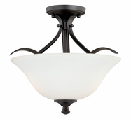"Vaxcel Lighitng (C0057) Cordoba 16"" Semi-Flush Mount"