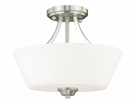 "Vaxcel Lighitng (C0061) Calais 13"" Semi-Flush Mount"
