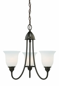 Vaxcel Lighitng (H0063) Concord 3 Light Chandelier