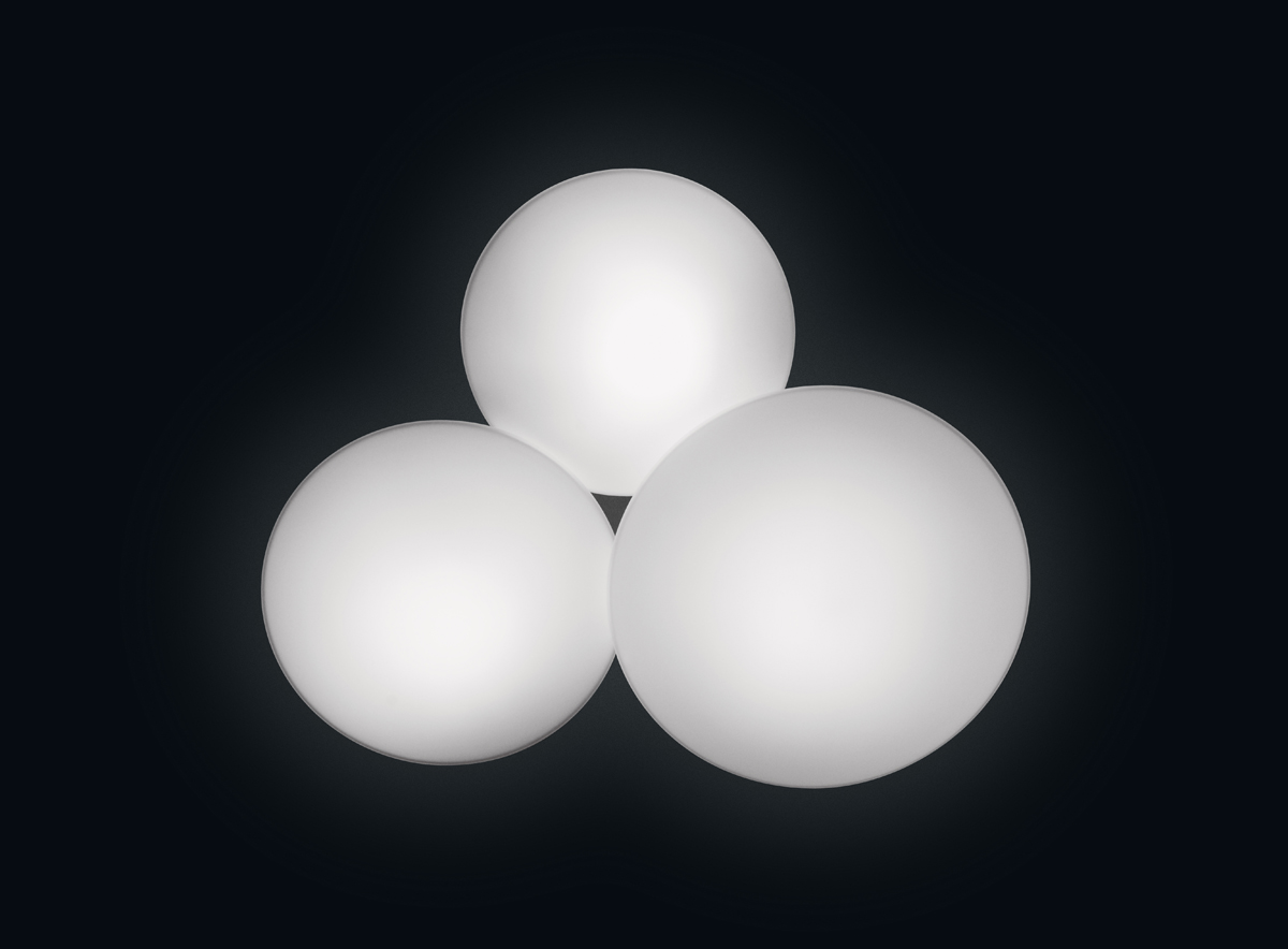 vibia lighting 5435 puck collection three sphere