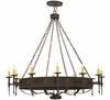 "Meyda Tiffany (67720) 65.5""W Warwick 12 Light Chandelier"