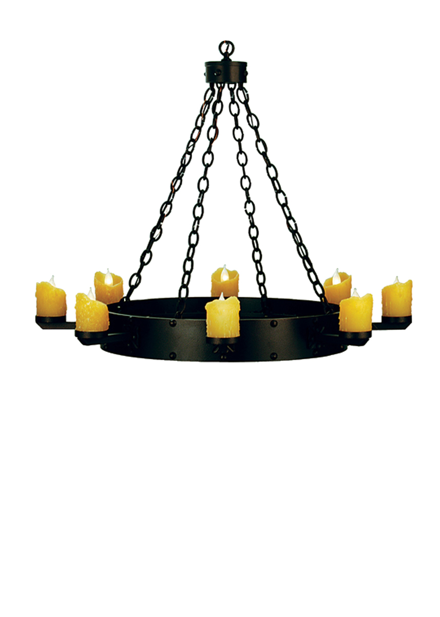 Meyda Tiffany (67974) 37.5 Inch Width Kingston 8 Light Chandelier
