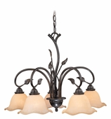 Vaxcel Lighitng (CH38805) Vine 5 Light Chandelier