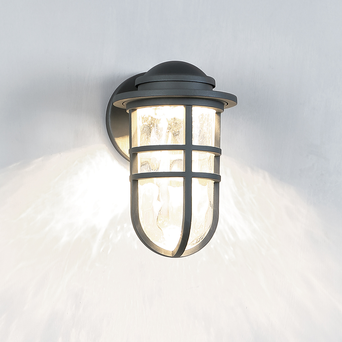 WAC Lighting WS W Steampunk 9 Inch LED Outdoor Wall
