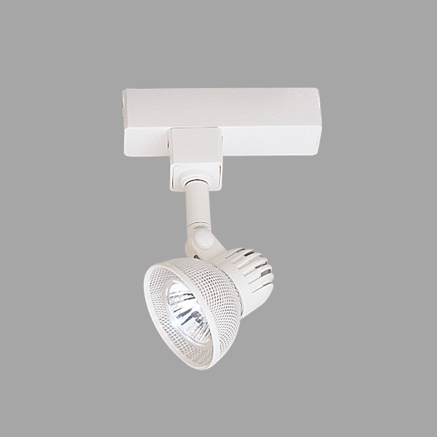 Wireback H Style Low Voltage Track Fixture With Adapter By Nora Lighting NT