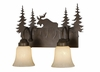 Vaxcel Lighting (VL55602) Yellowstone 2 Light Vanity Burnished Bronze