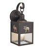 Vaxcel Lighting (OW24963) Yellowstone 5 Inch Outdoor Wall Light Burnished Bronze