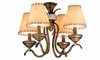 Vaxcel Lighting (LK38354) Yellowstone Fan Light Kit shown in Aged Walnut