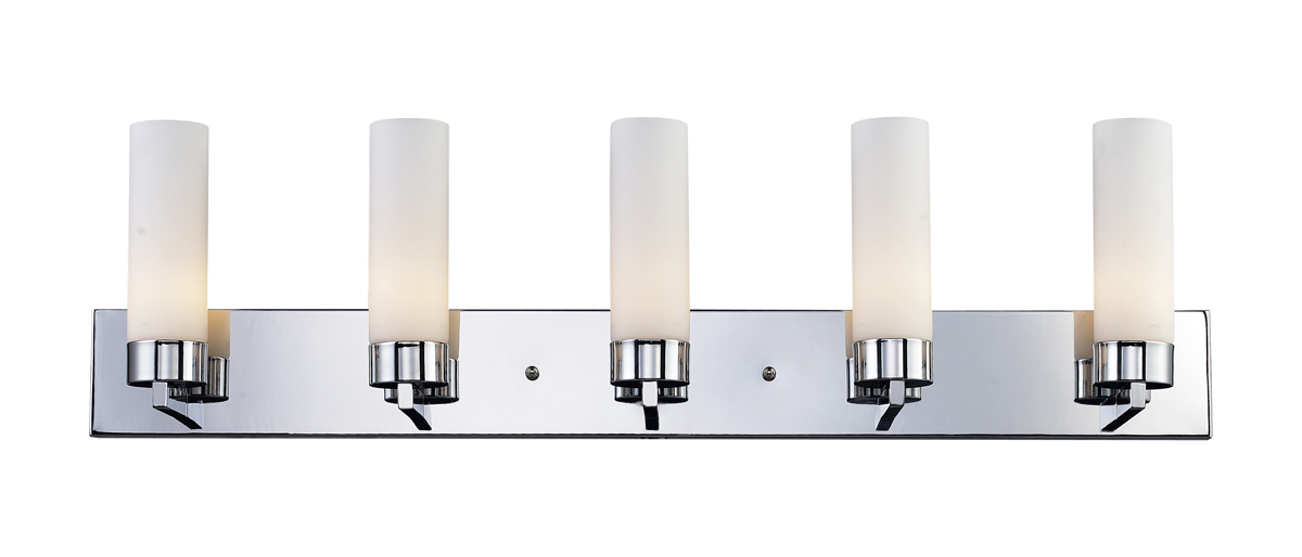 lite lighting 163 5v ibis 5 light vanity fixture. Black Bedroom Furniture Sets. Home Design Ideas