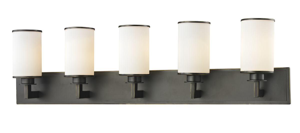 lite lighting 413 5v savannah 5 light vanity fixture. Black Bedroom Furniture Sets. Home Design Ideas