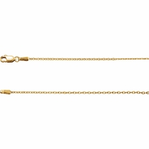 14K Cable Chain