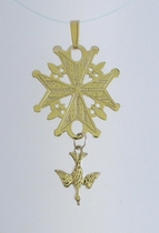 Huguenot Cross Pendants