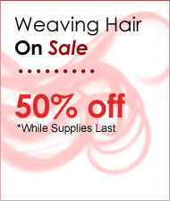 Weaving Hair On Sale