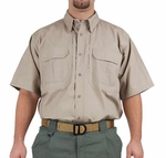 5.11 Tactical Short Sleeve Cotton Shirt, Khaki