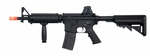 A&K M4 CQB-L Metal RIS RIS AEG Airsoft Gun with Foregrip and Crane Stock