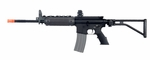 A&K LR300 Full Metal AEG Airsoft Rifle Folding Stock M4