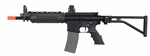 A&K LR300 Short Commando Full Metal AEG Airsoft Rifle Folding Stock M4
