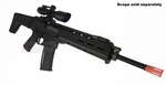 A&K Masada, MAGPUL Licensed Full Metal ACR AEG, Black