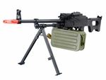 A&K PKM Full Metal Airsoft Support Weapon AEG