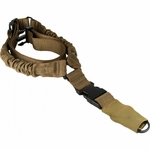 Aim Sports One Point Bungee Rifle Sling, Tan