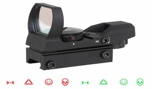 Aim Sports Red/Green Dot Sight - Warfare Edition