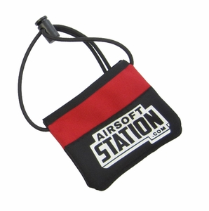 Airsoft Station Heavy Duty Barrel Cover, Red/Black