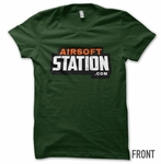 Airsoft Station Generation 2 T-Shirt, Forest Green