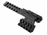 AK Rear Sight Metal Rail Mount