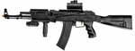 AK47 Style Full Spring Airsoft Rifle - Black